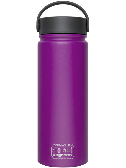 360° degrees Wide Mouth Insul - Gourde - 550ml violet